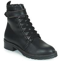 鞋子 女士 短筒靴 The Divine Factory LH2247B 黑色