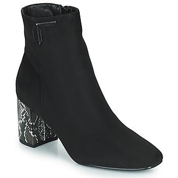 鞋子 女士 短靴 The Divine Factory QL4534 黑色 / Python