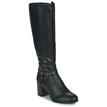 鞋子 女士 都市靴 The Divine Factory LH2080D 黑色