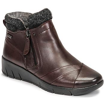 鞋子 女士 短筒靴 Jana GHERRA 波尔多红