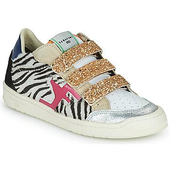 鞋子 女士 球鞋基本款 Serafini SAN DIEGO 金色 / 白色 / 黑色