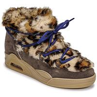 鞋子 女士 短筒靴 Serafini MOON LOW Leopard