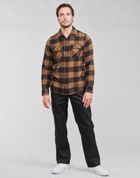 衣服 男士 多口袋裤子 Dickies 迪凯思 ORIGINAL FIT STRAIGHT LEG WORK PNT 黑色
