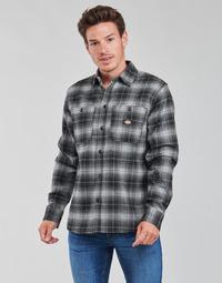 衣服 男士 长袖衬衫 Dickies 迪凯思 EVANSVILLE LS 黑色