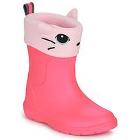 鞋子 女孩 雨靴 Isotoner 99314 玫瑰色