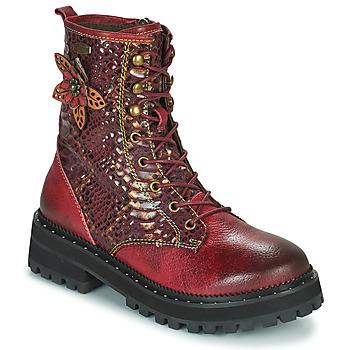 鞋子 女士 短筒靴 Laura Vita IACNISO 波尔多红 / 紫罗兰