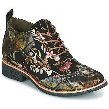 鞋子 女士 短筒靴 Laura Vita COCRALIEO 黑色 / 绿色 / 玫瑰色