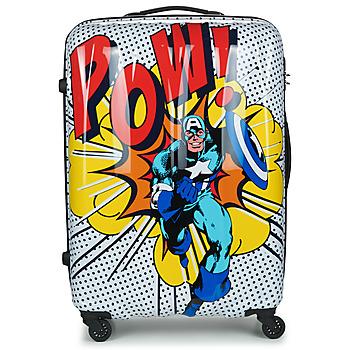 包 硬壳行李箱 American Tourister MARVEL LEGENDS POP ART 77 CM 多彩