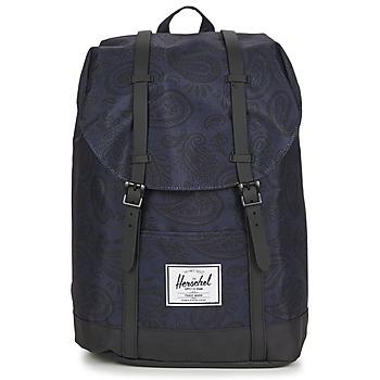 包 双肩包 Herschel RETREAT 海蓝色 / 黑色