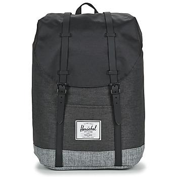 包 双肩包 Herschel RETREAT 黑色 / 灰色