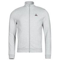 衣服 男士 运动款外套 Le Coq Sportif 乐卡克 ESS FZ SWEAT N 3 M 灰色 / 中国红