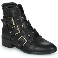 鞋子 女士 短筒靴 Only BRIGHT 15 PU BIKER BOOT 黑色