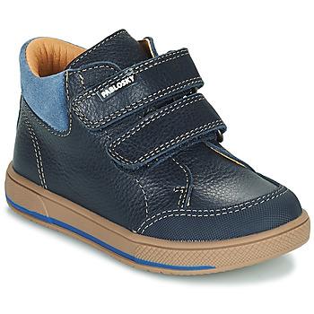 鞋子 男孩 短筒靴 Pablosky 503723 蓝色