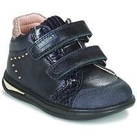 鞋子 女孩 高帮鞋 Pablosky 6122 海蓝色
