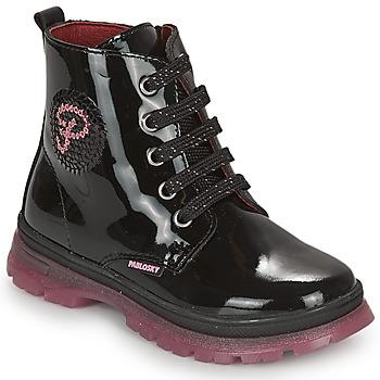 鞋子 女孩 短筒靴 Pablosky 404019 黑色