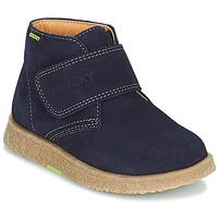 鞋子 男孩 短筒靴 Pablosky 502228 海蓝色