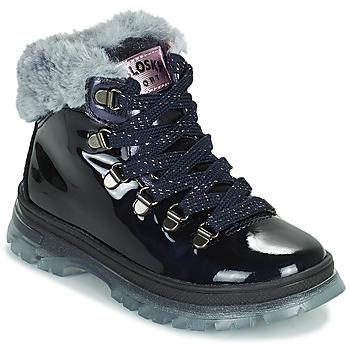 鞋子 女孩 短筒靴 Pablosky 404429 海蓝色