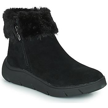 鞋子 女士 短筒靴 Scholl COURMAYEUR 黑色