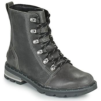 鞋子 女士 短筒靴 Sorel LENNOX LACE 灰色