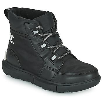 鞋子 女士 短筒靴 Sorel SOREL EXPLORER II CARNIVAL SPORT 黑色