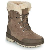 鞋子 女士 短筒靴 Sorel TORINO II PARC BOOT 灰褐色