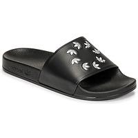 鞋子 拖鞋 Adidas Originals 阿迪达斯三叶草 ADILETTE 黑色