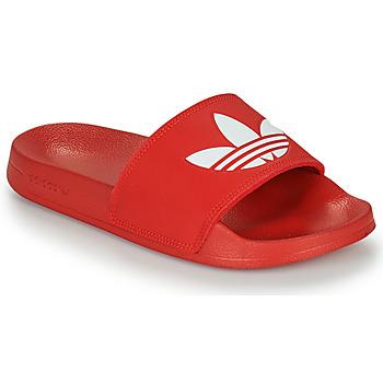 鞋子 拖鞋 Adidas Originals 阿迪达斯三叶草 ADILETTE LITE 红色