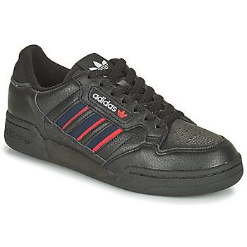 鞋子 球鞋基本款 Adidas Originals 阿迪达斯三叶草 CONTINENTAL 80 STRI 黑色 / 蓝色 / 红色