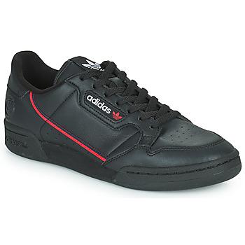鞋子 球鞋基本款 Adidas Originals 阿迪达斯三叶草 CONTINENTAL 80 VEGA 黑色