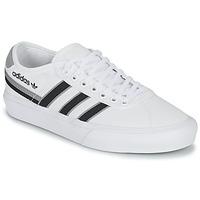 鞋子 球鞋基本款 Adidas Originals 阿迪达斯三叶草 DELPALA 白色 / 黑色