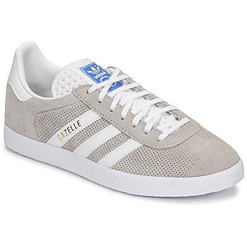 鞋子 球鞋基本款 Adidas Originals 阿迪达斯三叶草 GAZELLE 灰色 / 奶油色