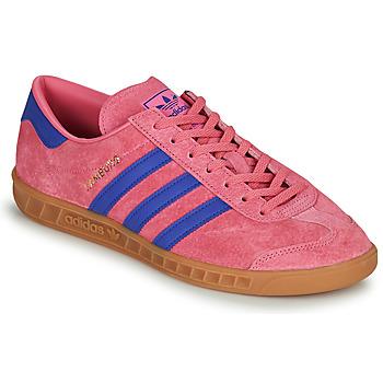 鞋子 球鞋基本款 Adidas Originals 阿迪达斯三叶草 HAMBURG 玫瑰色 / 蓝色