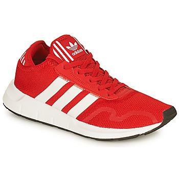 鞋子 男士 球鞋基本款 Adidas Originals 阿迪达斯三叶草 SWIFT RUN X 红色 / 白色