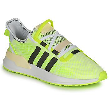 鞋子 男士 球鞋基本款 Adidas Originals 阿迪达斯三叶草 U_PATH RUN 白色 / 黄色