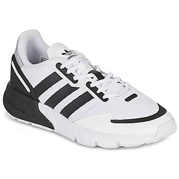 鞋子 球鞋基本款 Adidas Originals 阿迪达斯三叶草 ZX 1K BOOST 白色 / 黑色