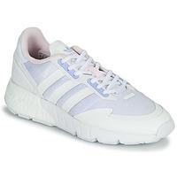 鞋子 女士 球鞋基本款 Adidas Originals 阿迪达斯三叶草 ZX 1K BOOST W 白色