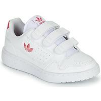 鞋子 女孩 球鞋基本款 Adidas Originals 阿迪达斯三叶草 NY 90  CF C 白色 / 玫瑰色