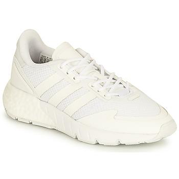 鞋子 儿童 球鞋基本款 Adidas Originals 阿迪达斯三叶草 ZX 1K BOOST J 白色