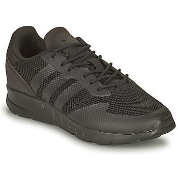 鞋子 男孩 球鞋基本款 Adidas Originals 阿迪达斯三叶草 ZX 1K C 黑色