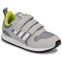 鞋子 男孩 球鞋基本款 Adidas Originals 阿迪达斯三叶草 ZX 700 HD CF C 灰色 / 绿色