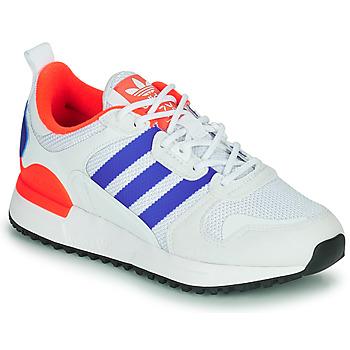 鞋子 儿童 球鞋基本款 Adidas Originals 阿迪达斯三叶草 ZX 700 HD J 蓝色 / 白色 / 红色