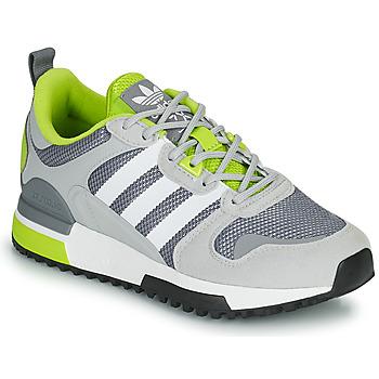鞋子 儿童 球鞋基本款 Adidas Originals 阿迪达斯三叶草 ZX 700 HD J 灰色 / 绿色