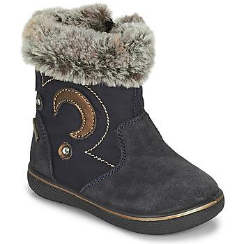 鞋子 女孩 雪地靴 Primigi SNORKY GTX 海蓝色 / 棕色