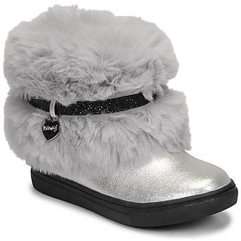 鞋子 女孩 短筒靴 Primigi BABY LUX 银灰色