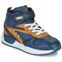 鞋子 男孩 高帮鞋 Primigi B&G MEGA 蓝色 / 棕色