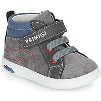 鞋子 男孩 高帮鞋 Primigi BABY LIKE 灰色 / 蓝色