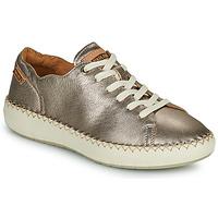 鞋子 女士 球鞋基本款 Pikolinos 派高雁 MESINA W6B 银灰色