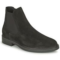 鞋子 男士 短筒靴 Selected 思莱德 CHELSEA 黑色