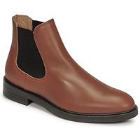 鞋子 男士 短筒靴 Selected 思莱德 CHELSEA 棕色