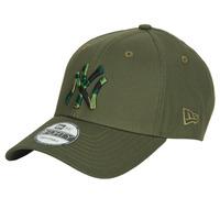 纺织配件 鸭舌帽 New-Era CAMO INFILL 9FORTY NEW YORK YANKEES 黄褐色